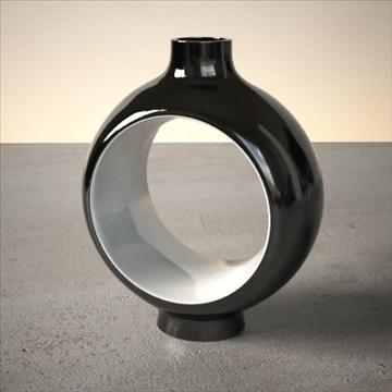modern vase set 3d model 3ds max dwg fbx lwo ma mb hrc xsi obj 102473