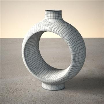 modern vase set 3d model 3ds max dwg fbx lwo ma mb hrc xsi obj 102474