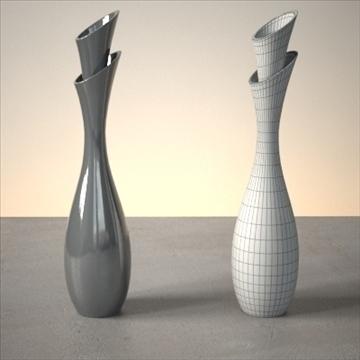 modern vase set 3d model 3ds max dwg fbx lwo ma mb hrc xsi obj 102475