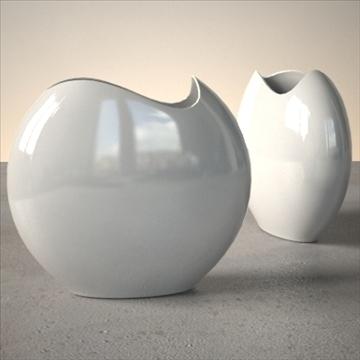 modern vase set 3d model 3ds max dwg fbx lwo ma mb hrc xsi obj 102476
