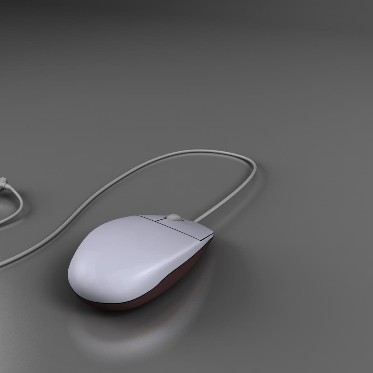 mouse 3d model 3ds max fbx ma mb obj 155942