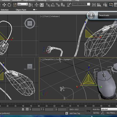 mouse 3d model 3ds max fbx ma mb obj 155948