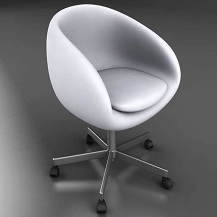 office chair – model #6 3d model 3ds max fbx ma mb obj 157079