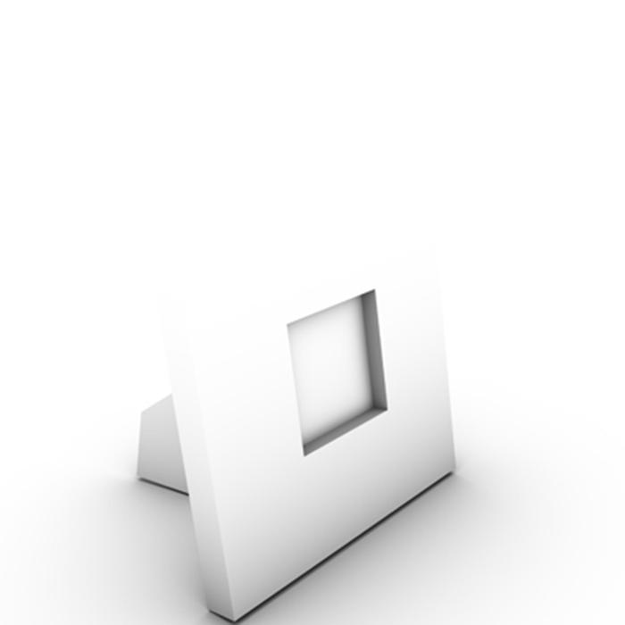 photo frame 3d model 3ds ma mb obj 155593