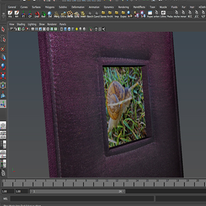 photo frame 4 3d model 3ds max fbx ma mb obj 155997