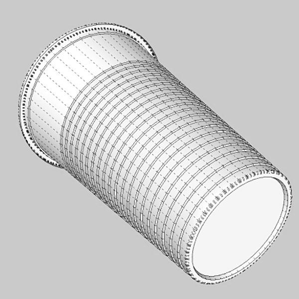 plastic cup 3d model 3ds fbx skp obj 115052