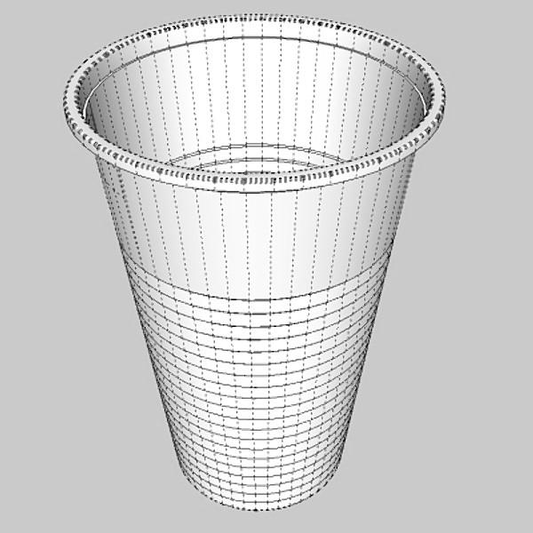 plastic cup 3d model 3ds fbx skp obj 115053