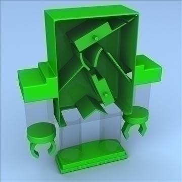robot bank 3d model 3ds max fbx lwo hrc xsi obj 106276