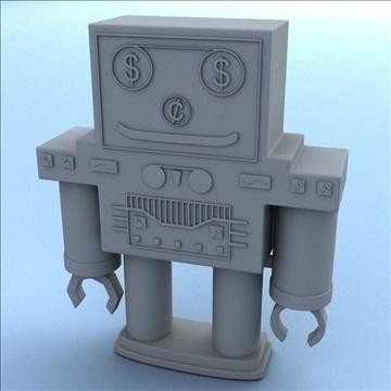 robot bank 3d model 3ds max fbx lwo hrc xsi obj 106278