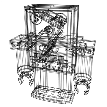 robot bank 3d model 3ds max fbx lwo hrc xsi obj 106279