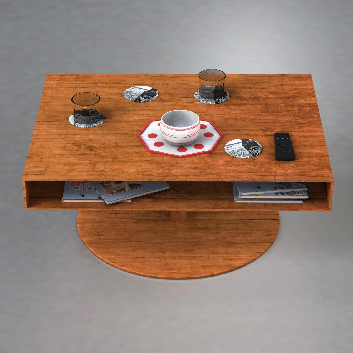 room table 3d model 3ds max fbx c4d ma mb obj 162724