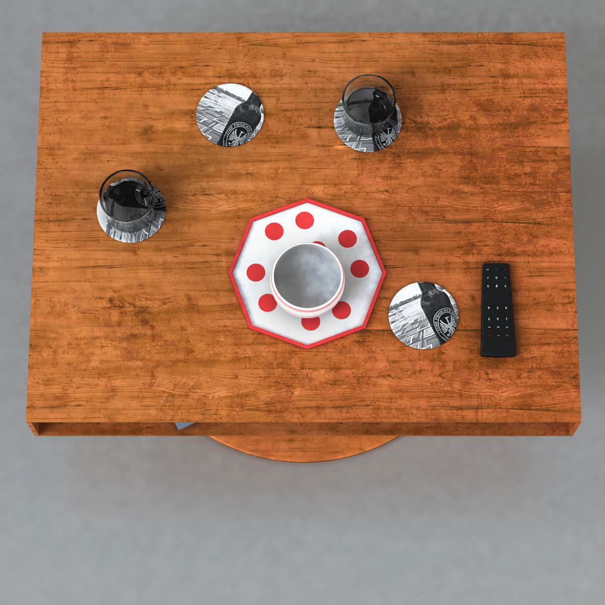 room table 3d model 3ds max fbx c4d ma mb obj 162725