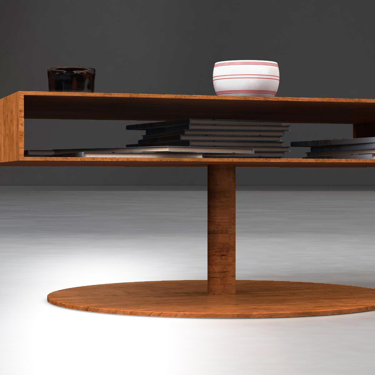 room table 3d model 3ds max fbx c4d ma mb obj 162729