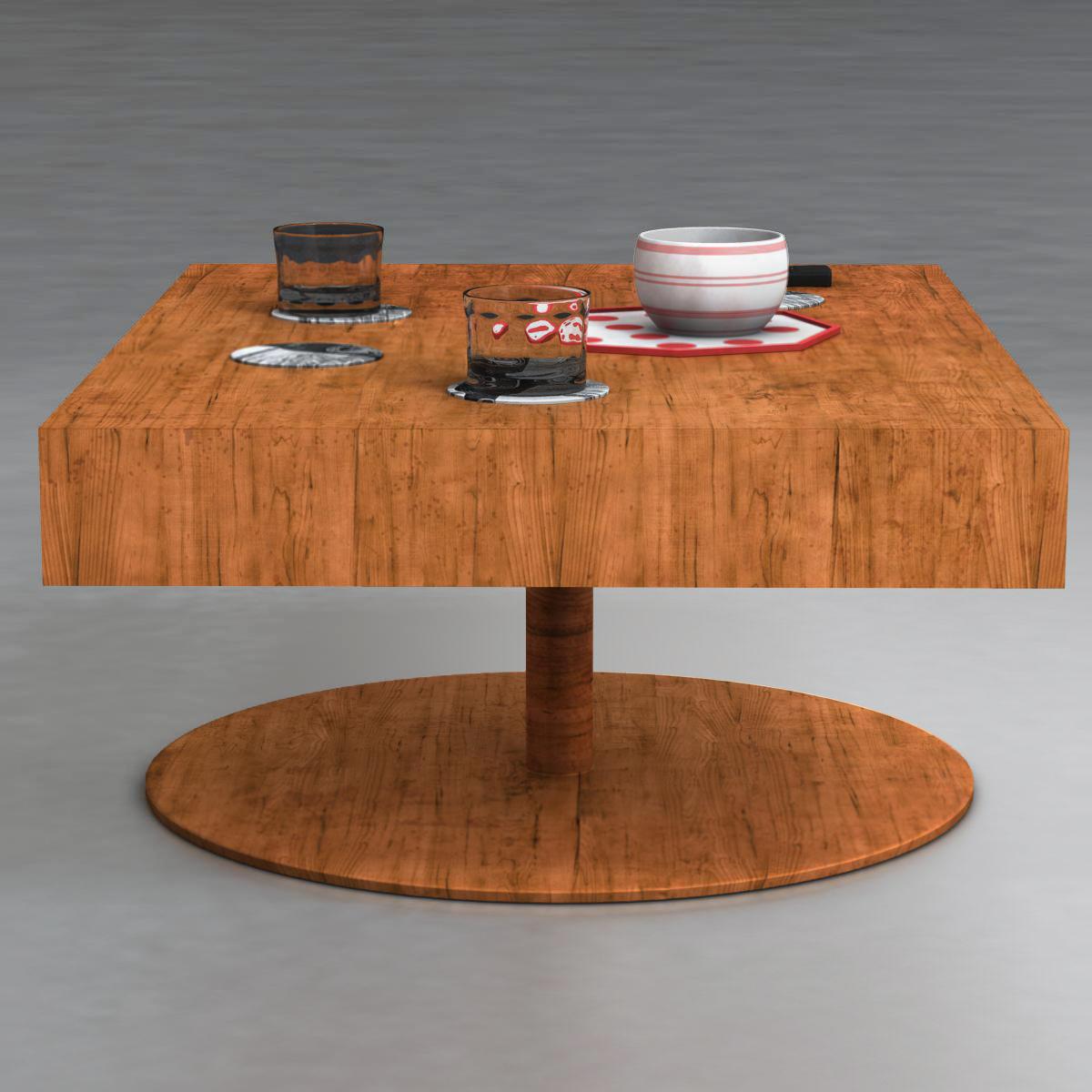 room table 3d model 3ds max fbx c4d ma mb obj 162732