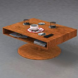 Room table 3d model 0