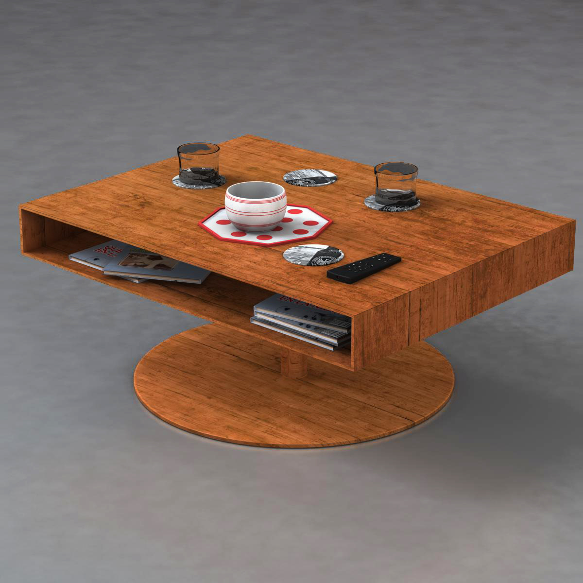 Room table 3d model 3ds max fbx c4d ma mb obj 162723