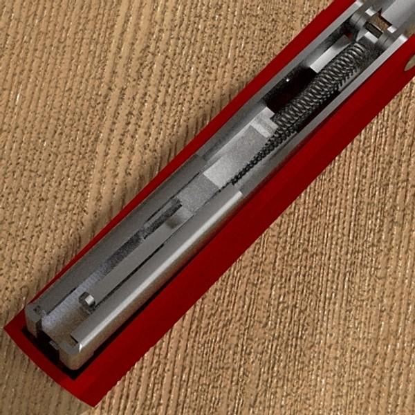 stapler 03 3d model 3ds fbx skp obj 115532