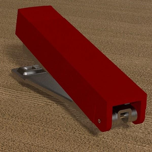 stapler 03 3d model 3ds fbx skp obj 115534