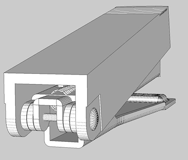 stapler 03 3d model 3ds fbx skp obj 115537