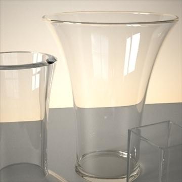 vase set 1 3d model 3ds max dwg fbx lwo ma mb hrc xsi obj 102445