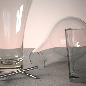 vase set 2 3d model 3ds max dwg fbx lwo ma mb hrc xsi obj 102453