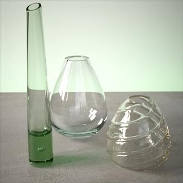 vase set 4 3d model 3ds max dwg fbx lwo ma mb hrc xsi obj 102463