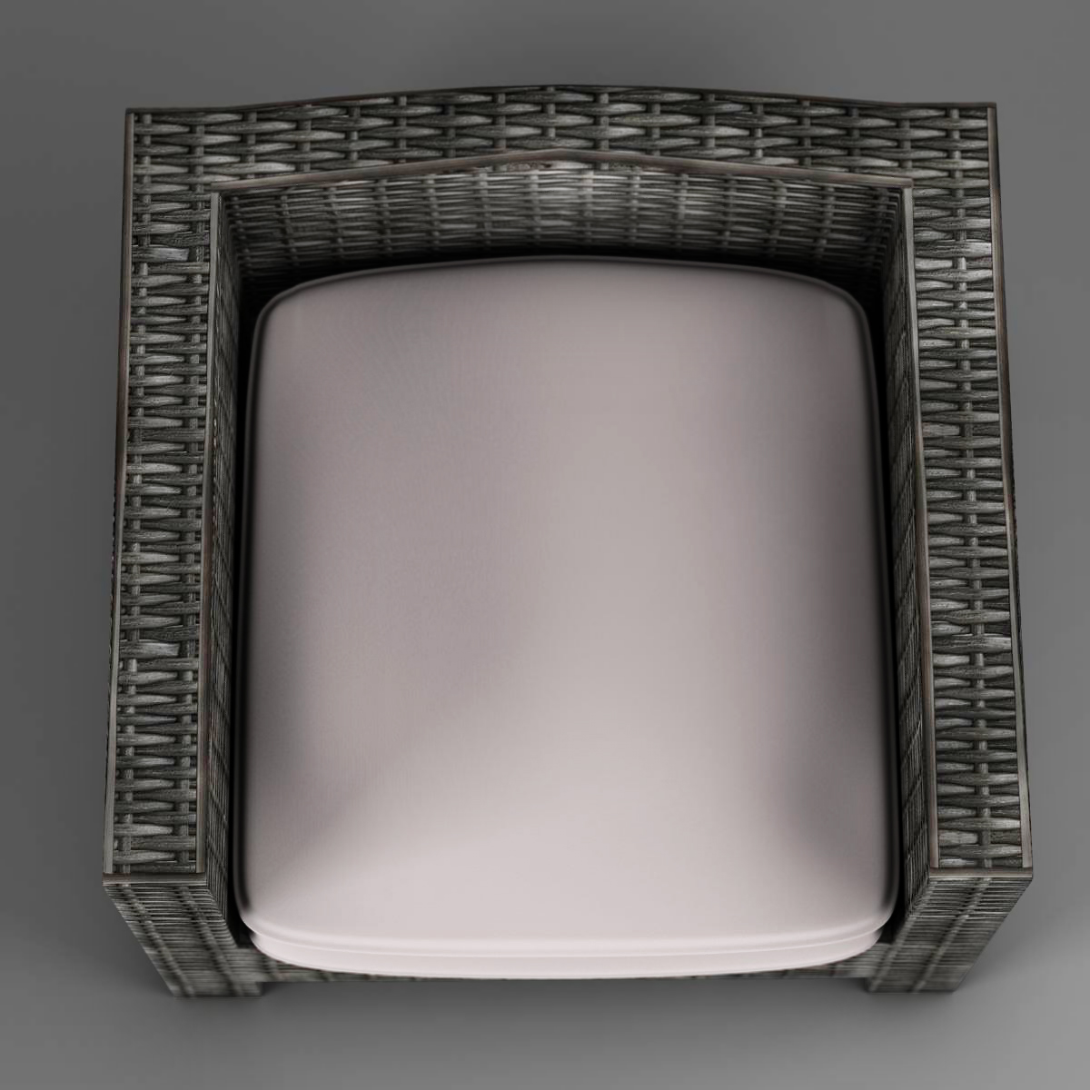 wicker couch 3d model 3ds max fbx c4d ma mb obj 162334