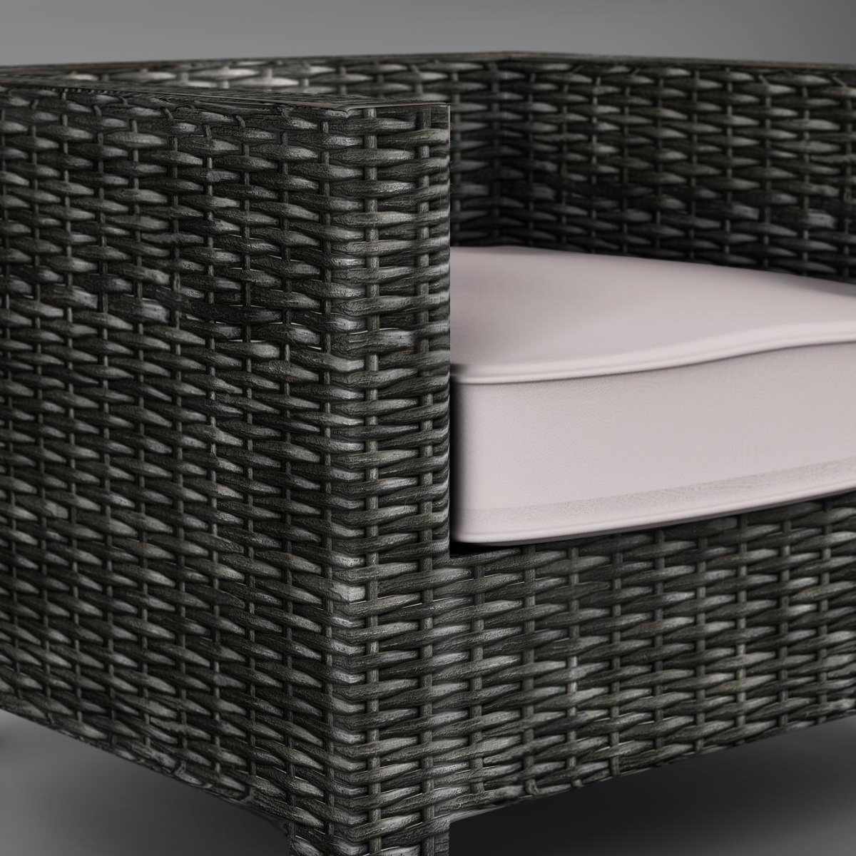 wicker couch 3d model 3ds max fbx c4d ma mb obj 162337