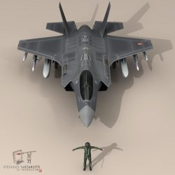 F 35 A Italian Air Force ( 75.44KB jpg by tartino )