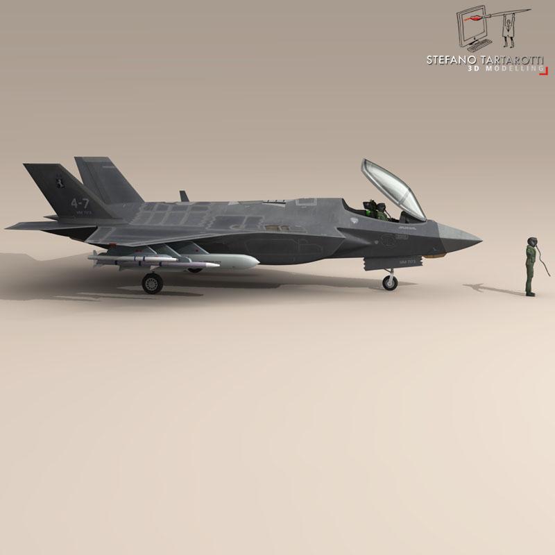 F 35 A Italian Air Force ( 61.7KB jpg by tartino )