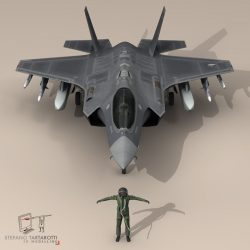 F 35 A Royal Netherlands air force ( 77.8KB jpg by tartino )
