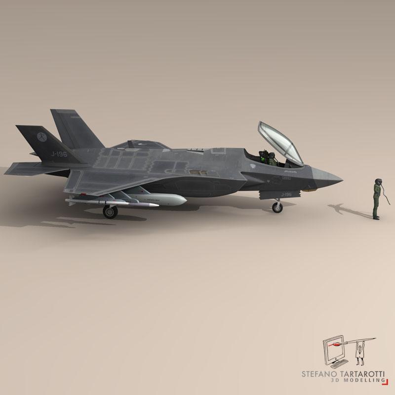 F 35 A Royal Netherlands air force ( 62.76KB jpg by tartino )