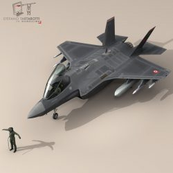 F 35A Turkey Air Force ( 76.49KB jpg by tartino )