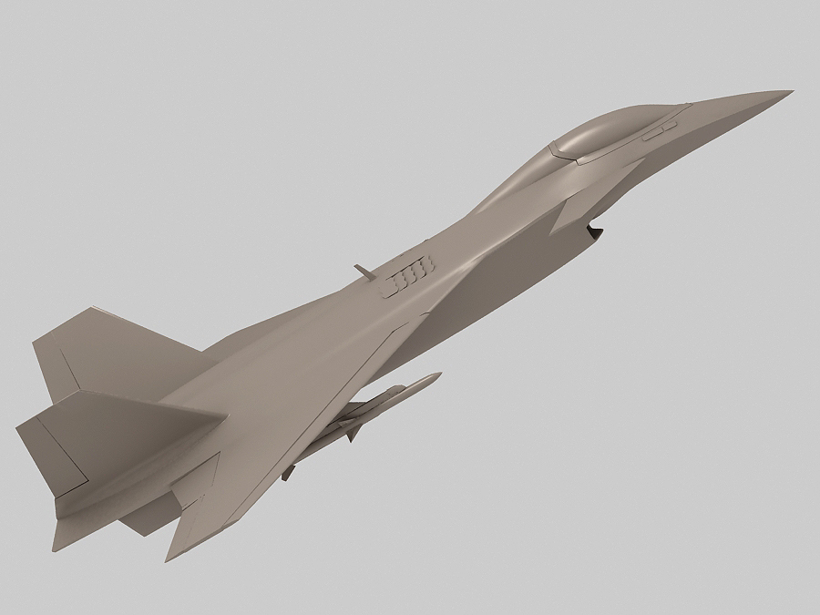 j-14 хятад сөнөөгч 3d загвар 3ds max fbx obj 123575
