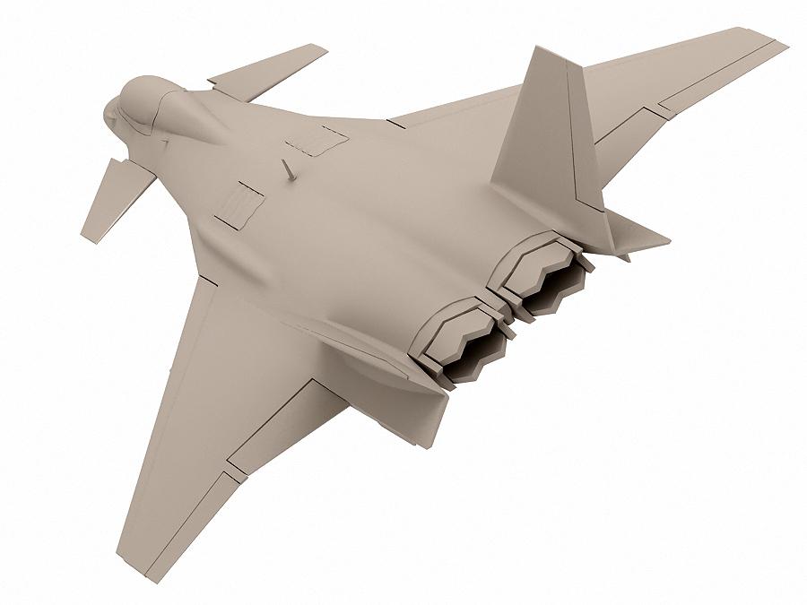 j-14 хятад сөнөөгч 3d загвар 3ds max fbx obj 123576
