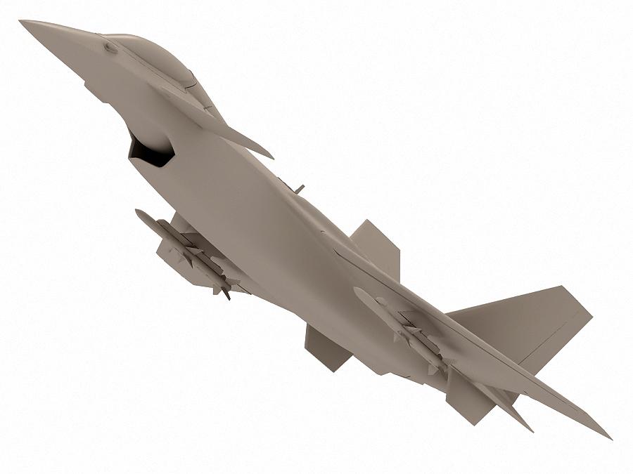 j-14 хятад сөнөөгч 3d загвар 3ds max fbx obj 123579