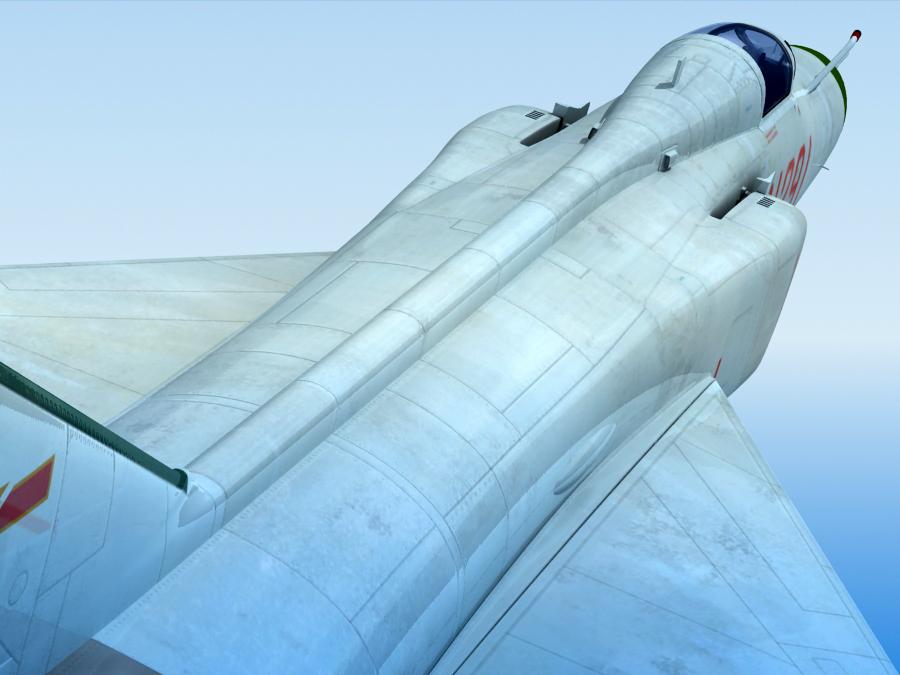 j-8f china сөнөөгч 3d загвар 3ds max fbx obj 123549