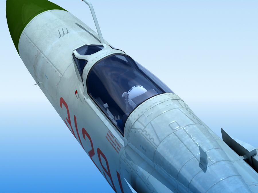 j-8f china сөнөөгч 3d загвар 3ds max fbx obj 123557