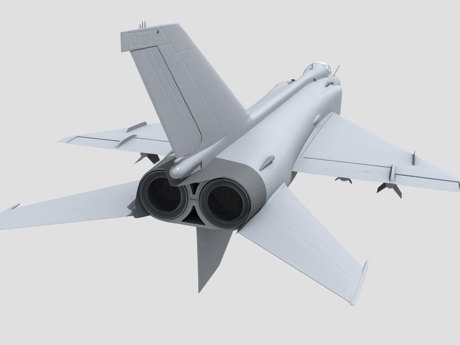 j-8f china сөнөөгч 3d загвар 3ds max fbx obj 123561