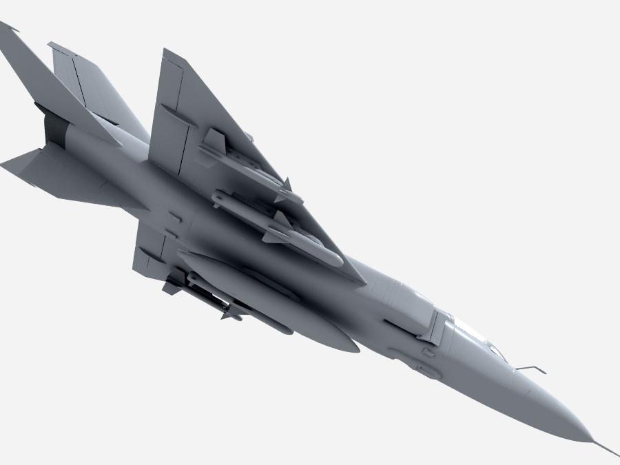 j-8f china сөнөөгч 3d загвар 3ds max fbx obj 123562