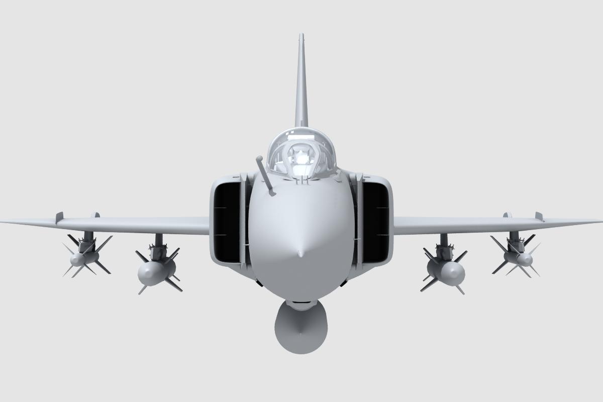 j-8f china сөнөөгч 3d загвар 3ds max fbx obj 123563