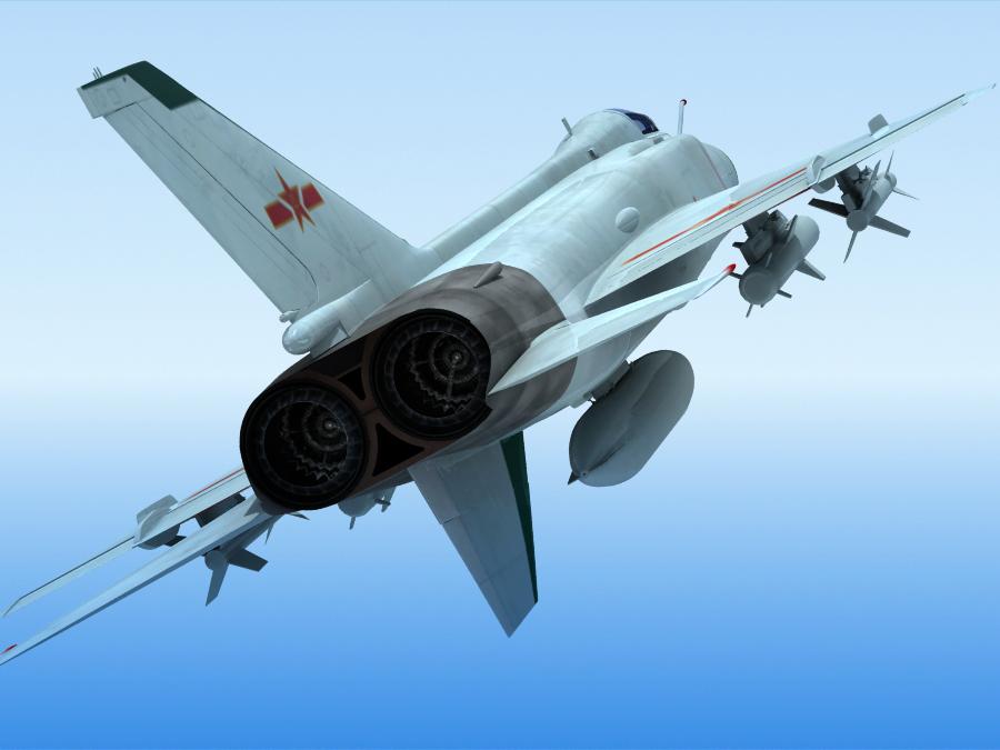 J-8F China Fighter ( 319.17KB jpg by maxman )