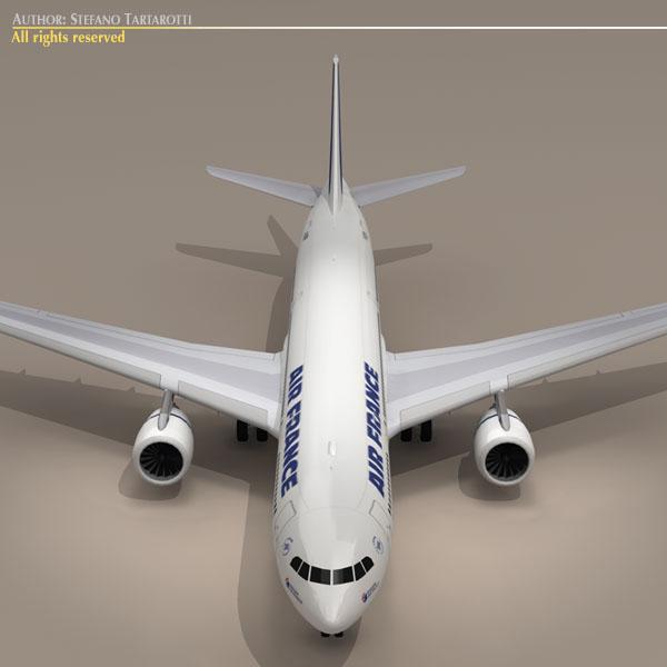 airbus a330-200 air france 3d model 3ds dxf c4d obj 116808