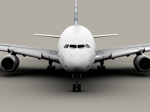 airbus a380 new house colors 3d model 3ds max lwo obj 113914