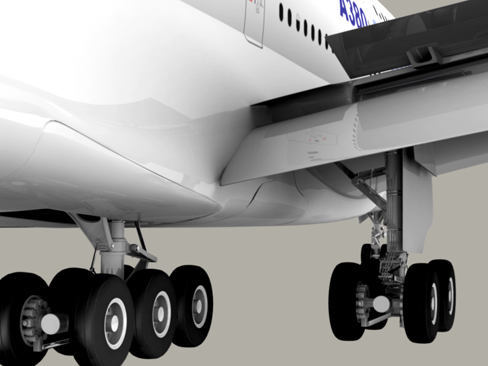 airbus a380 new house colors 3d model 3ds max lwo obj 113916
