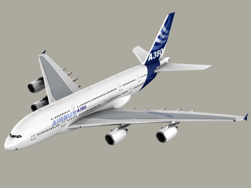 airbus a380 new house colors 3d model 3ds max lwo obj 113917