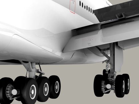 airbus a380 old house colors 3d model 3ds max obj 113930