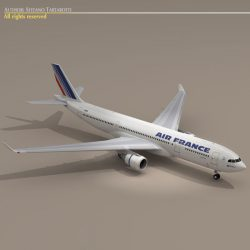 Airbus A330-200 Air France ( 48.73KB jpg by tartino )