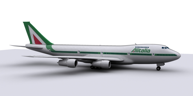 airplane boeing 3d model max 114978