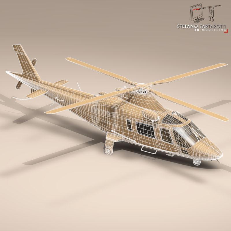 aw109 агаарын түргэн тусламжийн 3d загвар 3ds dxf fbx c4d dae obj 153359